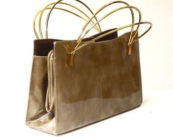 prada black leather clutch - Vintage Bags \u0026amp; Purses \u2013 Etsy