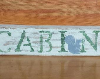 Cabin shelf sitter