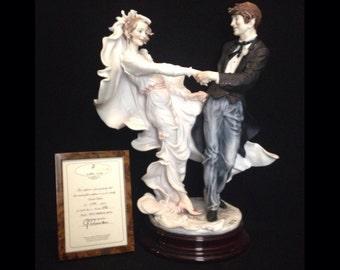 FREE SHIPPING-Fabulous-Made In Italy-Giuseppe Armani-493/C-Wedding Waltz-Limited Edition-371/3000-COA