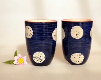 Large spots mug