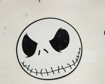 Jack Skellington Head Wall Sign