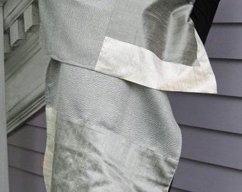 Silver Grey Shawl