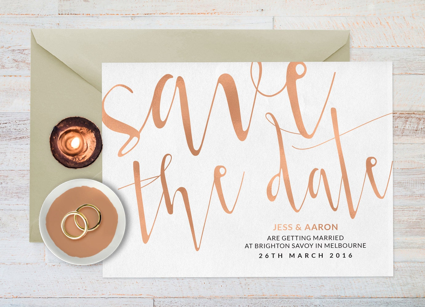 Rose gold save the date, Save the date printable, Wedding save the date, Wedding stationery, Save the date printable, Save the date cards