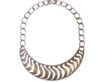 Pierre Cardin Cut Out Bib Necklace