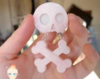 Skull & Cross Bones Phone Charm