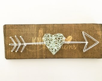 Cupid's Arrow String Art Board// String Art