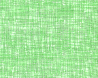 Timeless Treasures Lime Green Sketch - 100% Cotton Tone on Tone Fabric FbTY