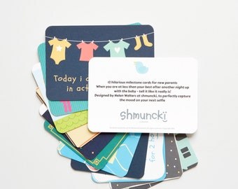 New mummy gift - Baby shower gift - Cards for New Mum's milestones - Mummy Cards - New Baby - New Parents