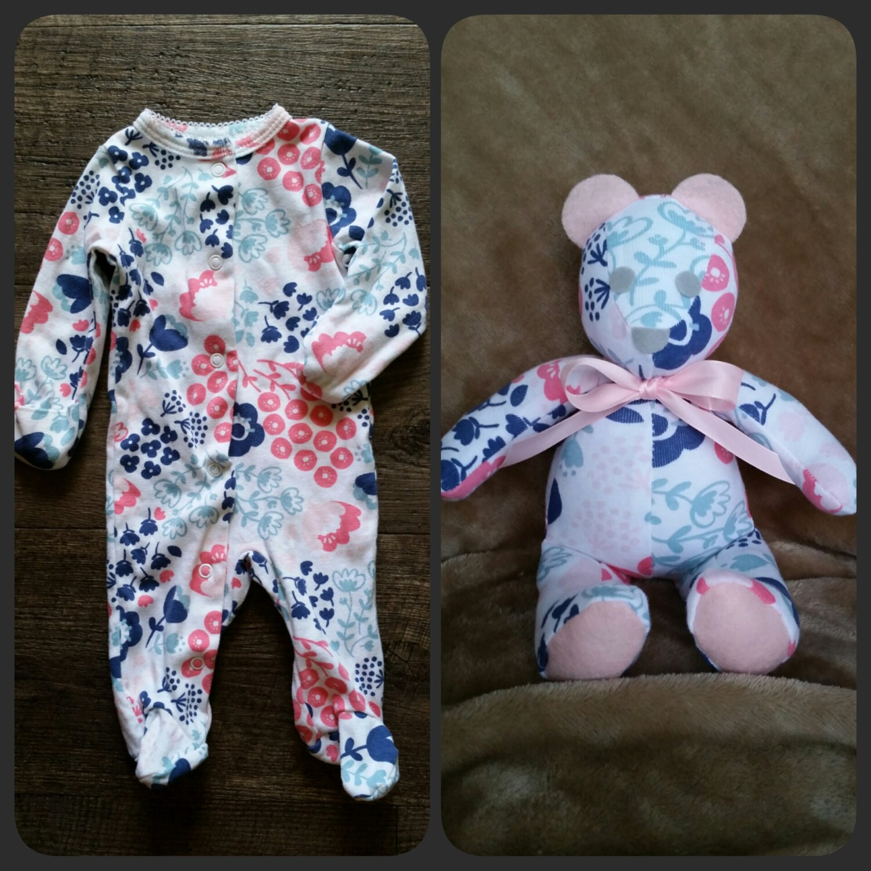 baby sleeper bear memory bear mini 8 10in