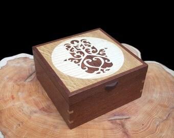 Jewellery Box Hand of Fatima