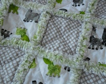 Unique Baby Rag Quilt Related Items Etsy