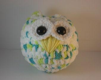 Large Owl Amigurumi Plush