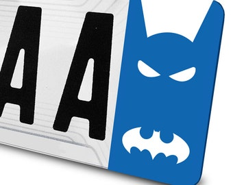 Sticker Batman for number plates