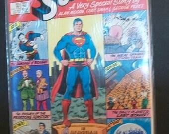 1986  Superman #423 Alan Moore Last Issue  VF-NM Unread DC Comic Book