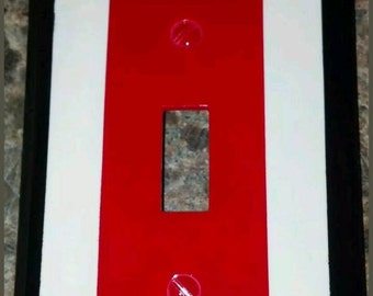 The Ohio State Buckeyes  lightswitch cover