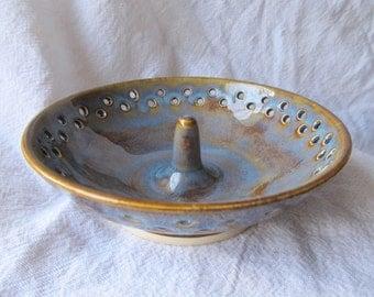 Blue Ring dish, Blue Jewelry Dish, Blue Ring Bowl, Blue Jewelry Bowl, Jewelry Storage, Ceramic Ring Bowl, Ceramic Ring Dish, Ring Storage