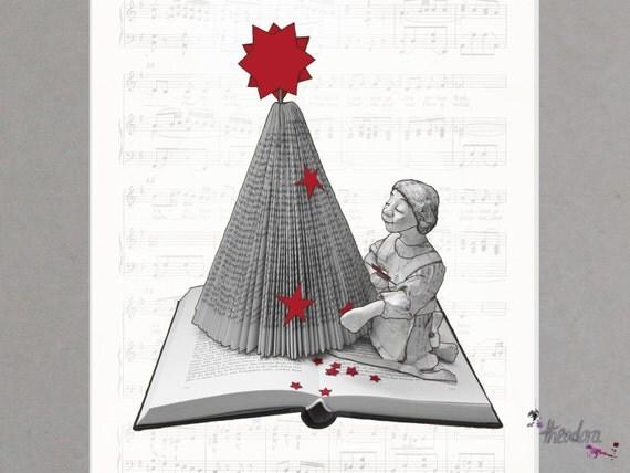 christmas card: christmas tree