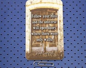 Joseph Campbell Quote Sticker