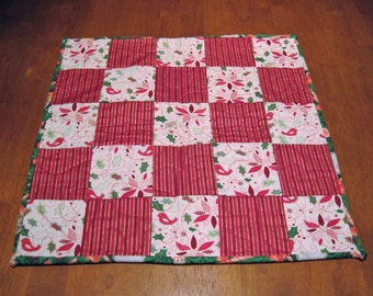 Christmas Quilted Table Topper