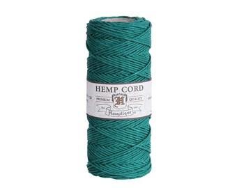 Green Hemp Cord Spool