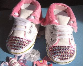 Baby sneaker crystallized Swarovski element