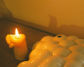 amputee candle (baby foot)