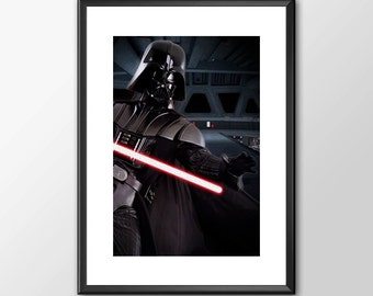Darth Vader - Star wars inspired Print - BUY 2 Get 1 FREE
