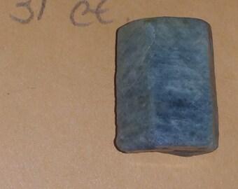13 ct rough cornflower blue sapphire