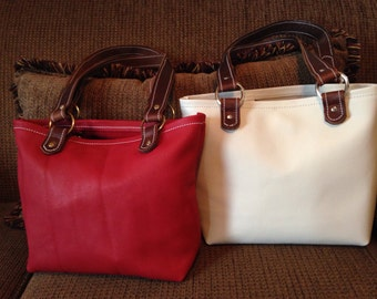 Every Day Leather Tote