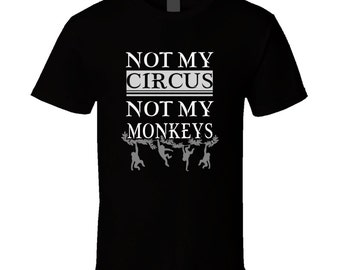 Monkey t-shirt. Monkey tshirt for him or her. Monkey tee as a Monkey gift idea. A great Monkey gift with this Monkey t shirt