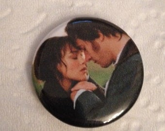 Pride and Prejudice Inspired 1 Inch Button!