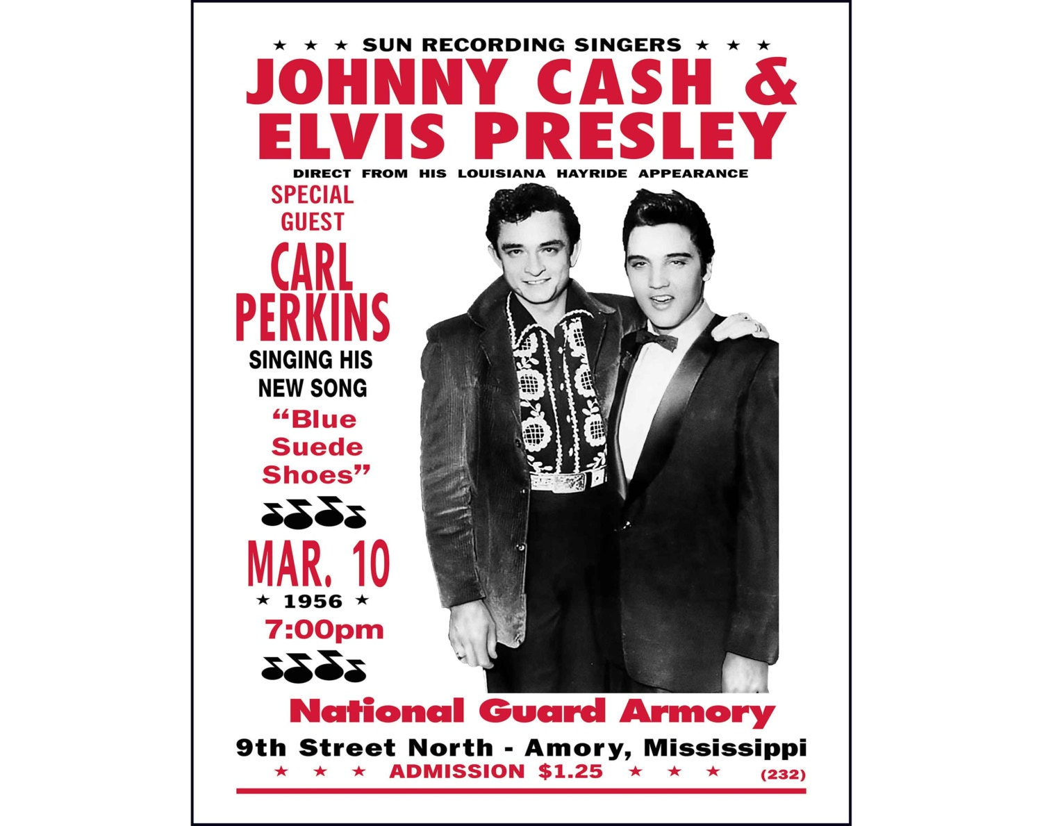 johnny cash elvis presley print photo poster cash and elvis. Black Bedroom Furniture Sets. Home Design Ideas