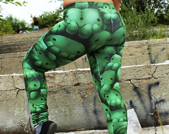 Cthulhu ,Cthulhu leggins, Cthulu,tentacle pattern, Video Game, pattern leggins yoga leggins, yoga pants, dungeons&dragons, chibli