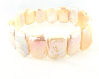 Square Pearl Bracelet