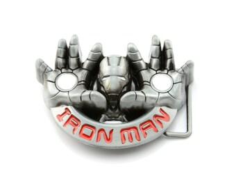 Iron Man Hands Belt Buckle