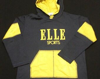 Vintage Elle Sports Hoodie.