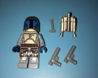 Star Wars Vintage Version JANGO FETT Custom Minifigure