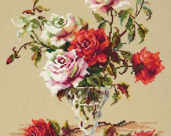 Cross Stitch Kit by Wonderful Needle - Melody of Love