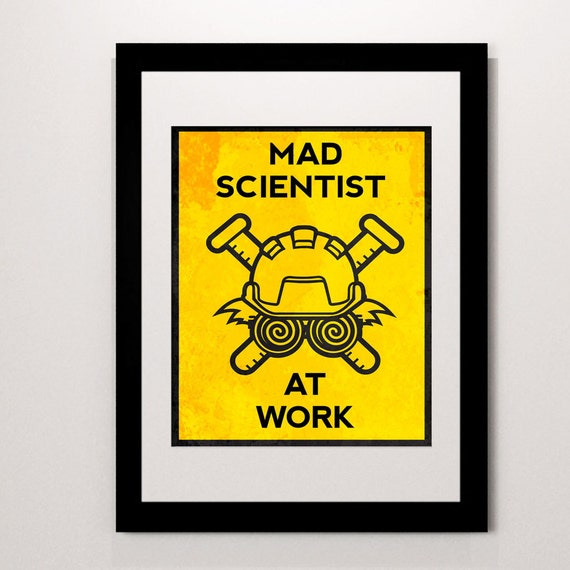 Massif image intended for printable mad science sign