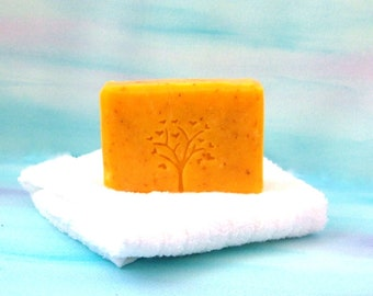 Sunflower Soap Unscented,  Natural Soap, Cold Processed soap, Artisan soap, Hand-Crafted Soap, Handmade Cold Process Soap