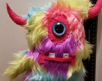 Large Handmade plush Monster