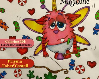 COLOR ON! Magazine - February 2016 Issue (Featured Artists)