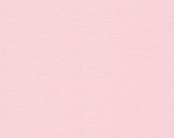 1/2 yard CLOUD9 KNITS solid   blush 929 Organic knits