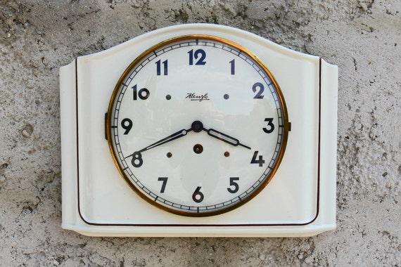 Kienzle Vintage ceramic kitchen clock . Livraison gratuite en