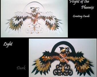 Flight of the Phoenix Greeting Cards