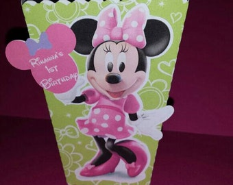 Minnie Mouse Popcorn Box