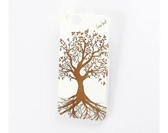 iPhone 7 case, iPhone 6s case iPhone 6 case iPhone 7 plus case iPhone 6s plus case iPhone 6 plus case White Tree