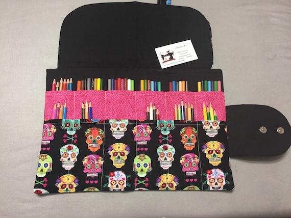Pencil Organization hand sewn custom fabrics