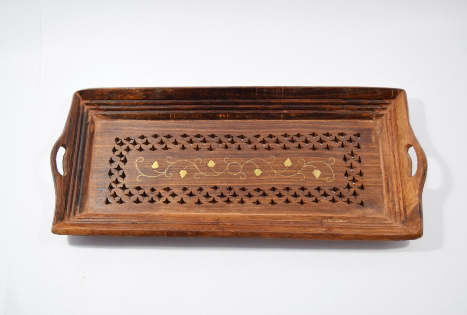 antique wood tray decorative wooden tray antique look wood serving tray by 1302