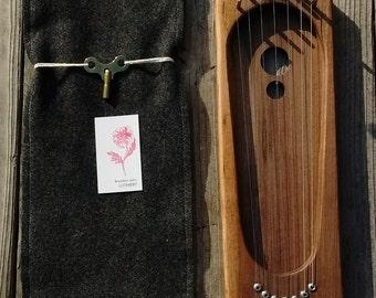 Lyre - 7 string Pentatonic Waldorf Instrument - Made to Order